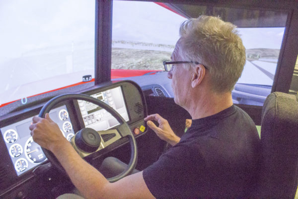 Practice your skills on our Driving Simulator