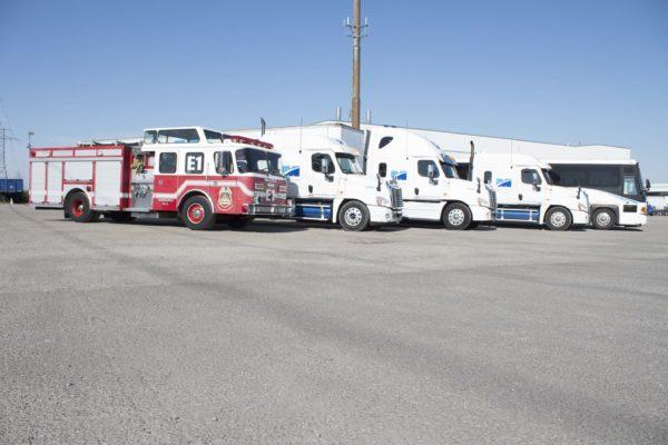 Modern Training Vehicle fleet